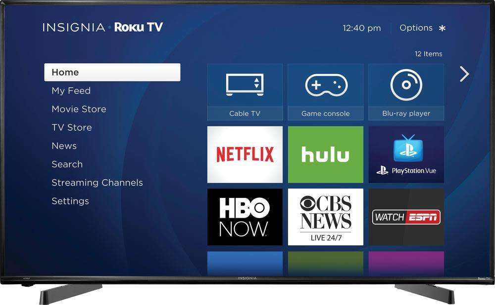 Insignia 49 Quot 1080p Led Lcd Hd Roku Smart Tv For 300