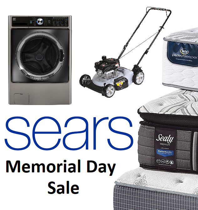 Sears Memorial Day Sale Up To 60 Off Appliances